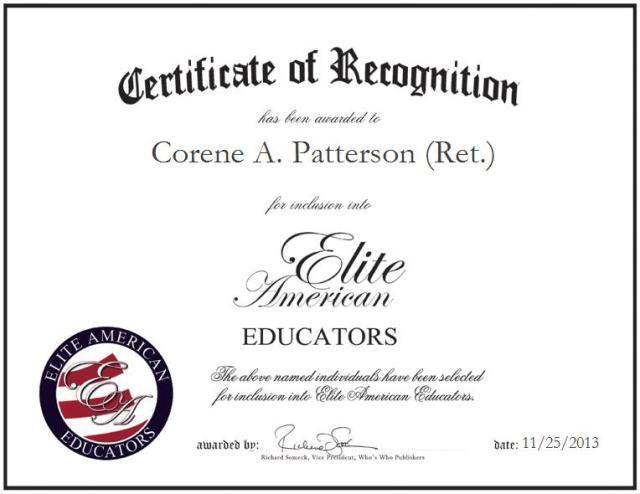 Corene Patterson