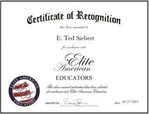 E. Ted Siebert