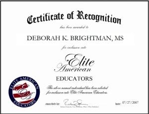 Deborah Brightman