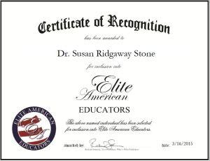 Dr. Susan Ridgaway Stone