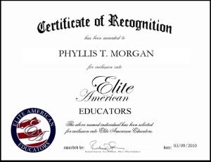 Phyllis Morgan