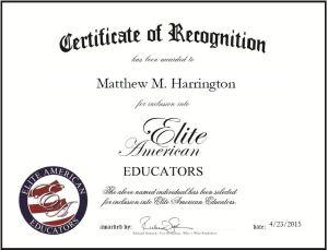 Matthew M. Harrington