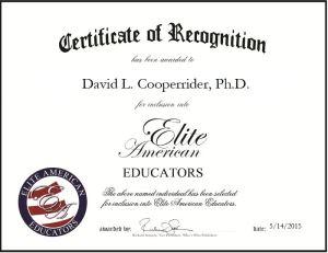 David L. Cooperrider, Ph.D.