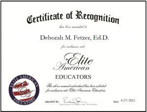 Deborah M. Fetzer