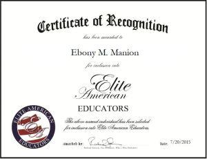 Ebony M. Manion