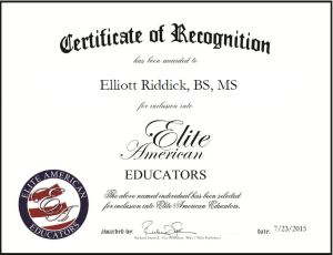 Elliott Riddick